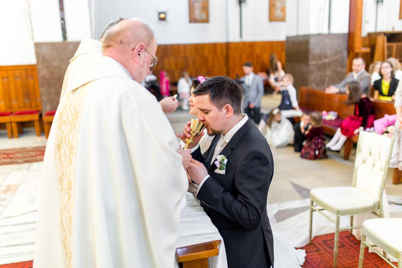 Bogusia i Wojtek ślub w Warszawie