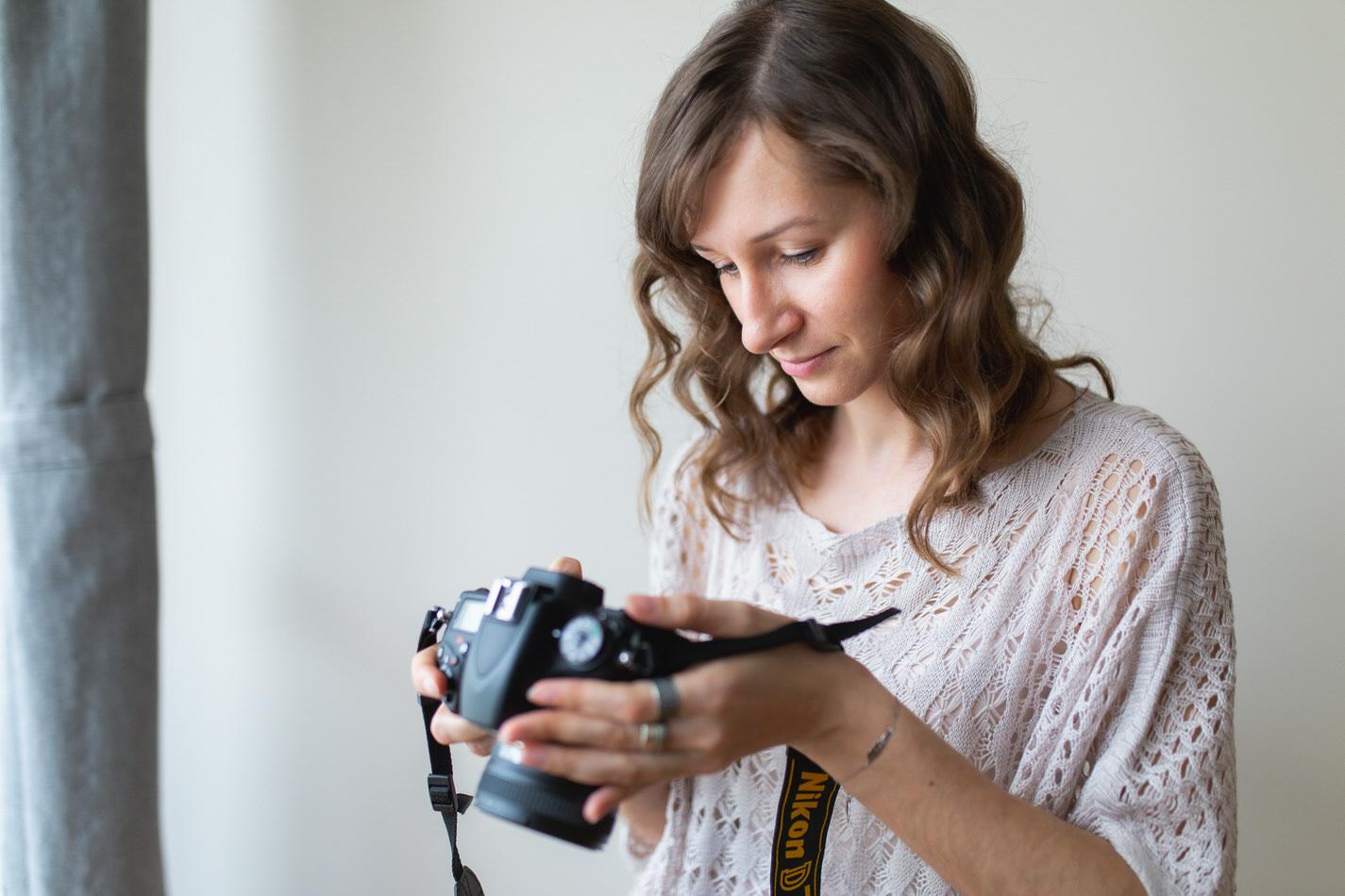 sesja dla fotografa